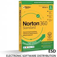 Norton ESD 360 STANDARD 10GB PL 1Y 1PC [STA]