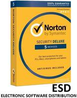 Norton ESD Security DELUXE ESD 1Y 5PC [STA]