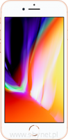 "Apple iPhone 8 256GB Gold (złoty), 4.7"" Retina HD, 12MP, A11 M11, FV23% - Wysyłka gratis!"