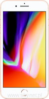 "Apple iPhone 8 Plus 64GB Gold (złoty), 5.5"" Retina HD, 12MP, A11 M11, FV23% - Wysyłka gratis!"