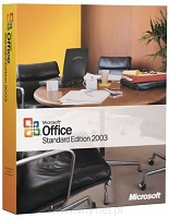 Office 2003 Standard Edition BOX ( Works 8 + Office 2003 Standard Uakt. )