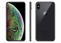 Okazja, szyba, ładowarka indukcyjna, etui gratis! Apple iPhone Xs Max 64GB Space Gray (gwiezdna szarość), 6.5&#8221 Super Retina HD, IP68, A12, iOS 12, FV23% - Wysyłka gratis!