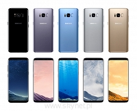 "Samsung Galaxy S8 Midnight Black (czarny), 5.8"" Quad HD+ sAMOLED, 64GB / 4GB RAM, IP68, Dual Pixel 12MP / 8MP AF, FV23% - Wysyłka gratis!"