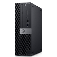 Komputer Optiplex 5060SFF W10Pro i3-8100/4GB/500GB/Intel UHD 630/DVD RW/No Wifi/KB216/MS116/3Y NBD