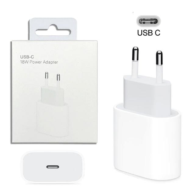 Okazja! Zasilacz ładowarka Apple USB C o mocy 18W BOX