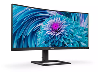 "Monitor Philips 34"" 346E2CUAE UltraWide Curved HDMI USB-C"