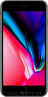 Okazja, szyba gratis! Apple iPhone 8 Plus 64GB Space Gray (szary), 5.5&#8221 Retina HD, 12MP, A11 M11, FV23% - Wysyłka gratis!