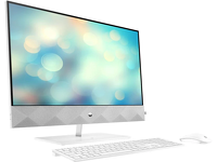 "Komputer HP 27"" All-in-One AiO i5-10400T / 16GB DDR4 / 512GB SSD / GTX1650 / Biały"