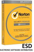 Norton ESD Security PREMIUM ESD 3Y 10PC