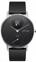 Withings Steel HR - smartwatch z pomiarem pulsu (czarny 36mm)