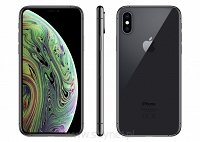Okazja, szyba, ładowarka indukcyjna, etui gratis! Apple iPhone Xs 64GB Space Gray (szary), 5.8&#8221 Super Retina HD, IP68, A12, iOS 12, FV23% - Wysyłka gratis!