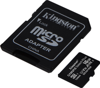 Karta MicroSD Kingston Canvas Select Plus 16GB