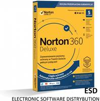 Norton ESD 360 DELUXE 50GB PL 1Y 5PC [STA]