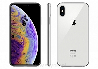 Apple iPhone Xs Max 64GB Silver (srebrny), 6.5&#8221 Super Retina HD, IP68, A12, iOS 12, FV23% - Wysyłka gratis!
