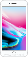 "Apple iPhone 8 Plus 256GB Silver (srebrny), 5.5"" Retina HD, 12MP, A11 M11, FV23% - Wysyłka gratis!"