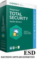 Kaspersky ESD Total Security multi-device 1Y 2PC